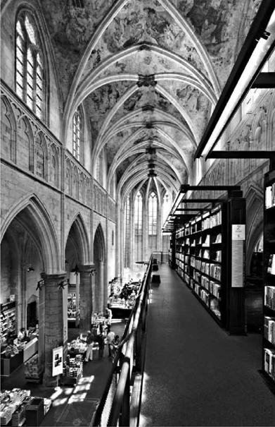 Βιβλιοπωλείο 'Selexyz Dominicanen', αρχ. Merkx+Girod, Μάαστριχτ, Ολλανδία φωτ. ©Manuela Martin