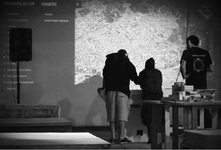 Διαδραστική εφαρμογή από την ομάδα Κενοτοπία στα πλαίσια του Φαντάσου την πόλη – Βόλος 2012