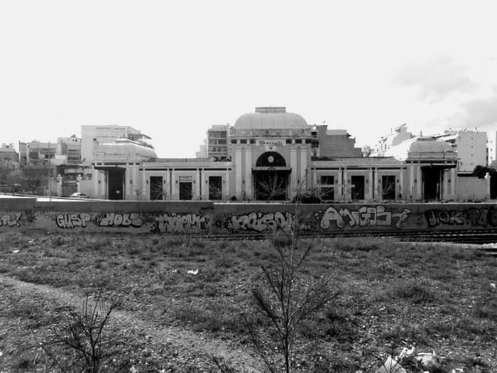 Ο Σταθμός Πελοποννήσου, έργο του Ερνέστου Τσίλερ πηγή: http://athensville.blogspot.com