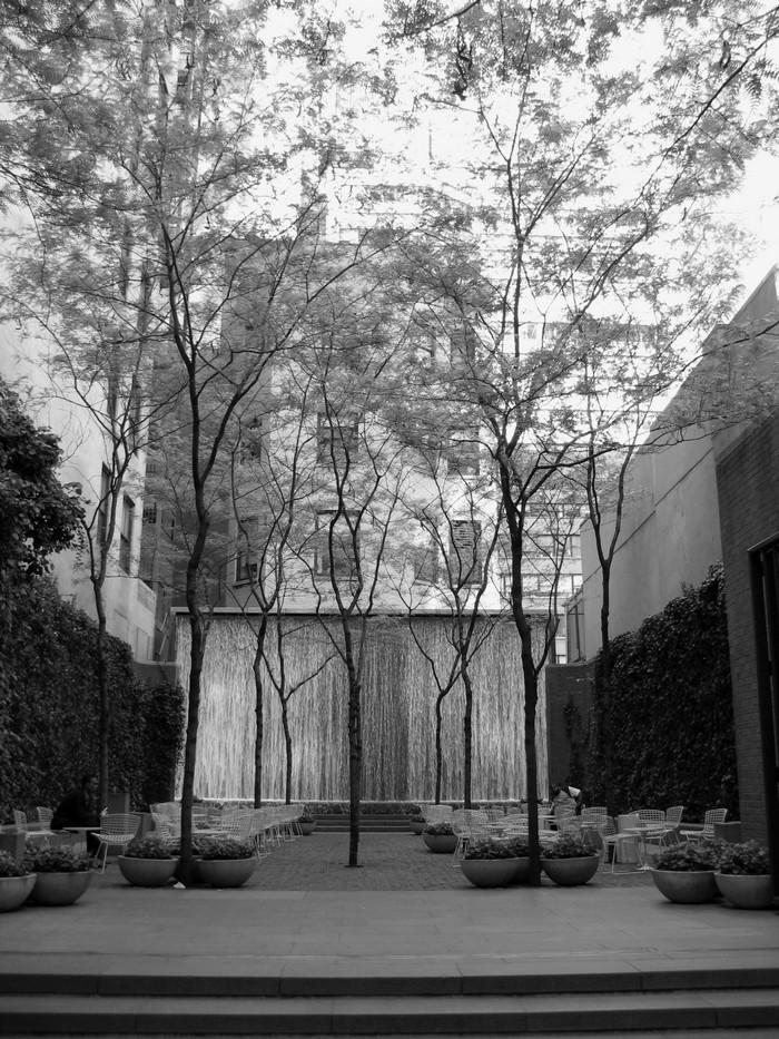«Πάρκο τσέπης» Paley Park, Μανχάταν, Νέα Υόρκη. Ένα μικρό αστικό πάρκο,  που δημιουργήθηκε στον ακάλυπτο χώρο ενός ΟΤ, φωτ. João Fernandes Rocha