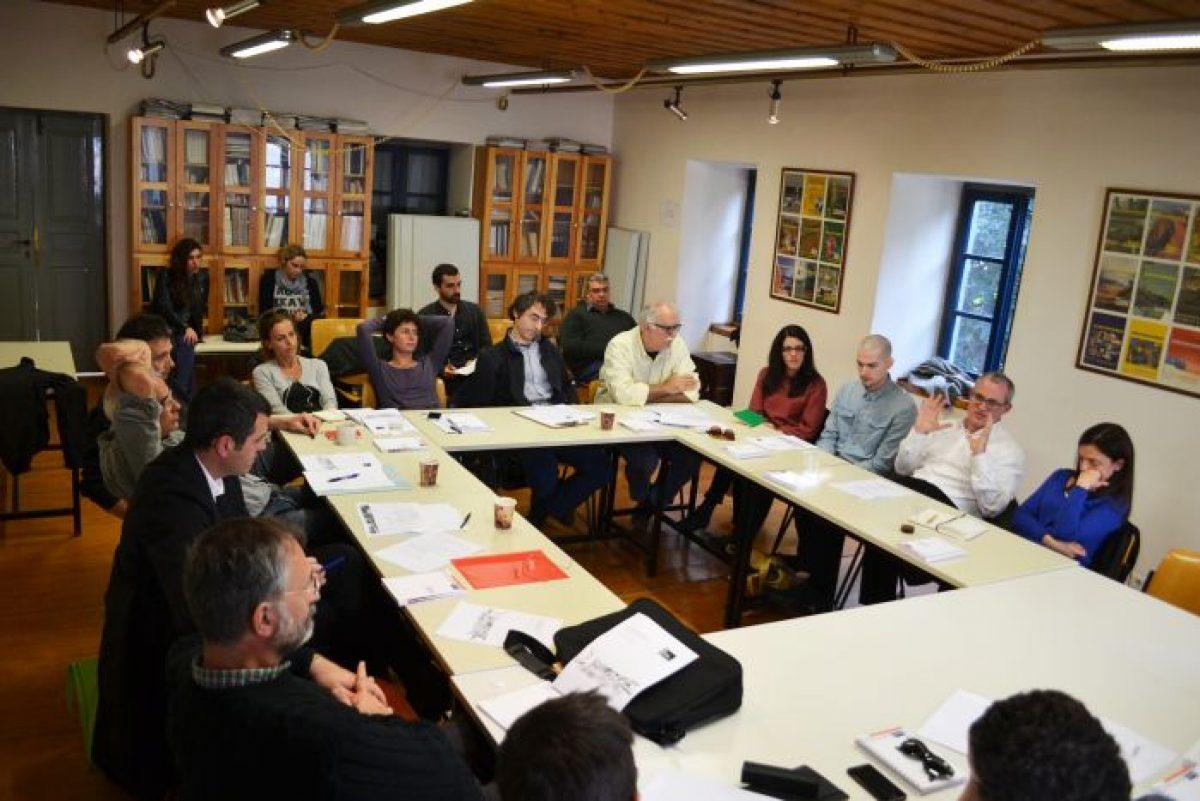 Η πρώτη συνάντηση των 10 αρχιτεκτονικών γραφείων που θα συμμετέχουν στην 14η Biennale Αρχιτεκτονικής της Βενετίας.