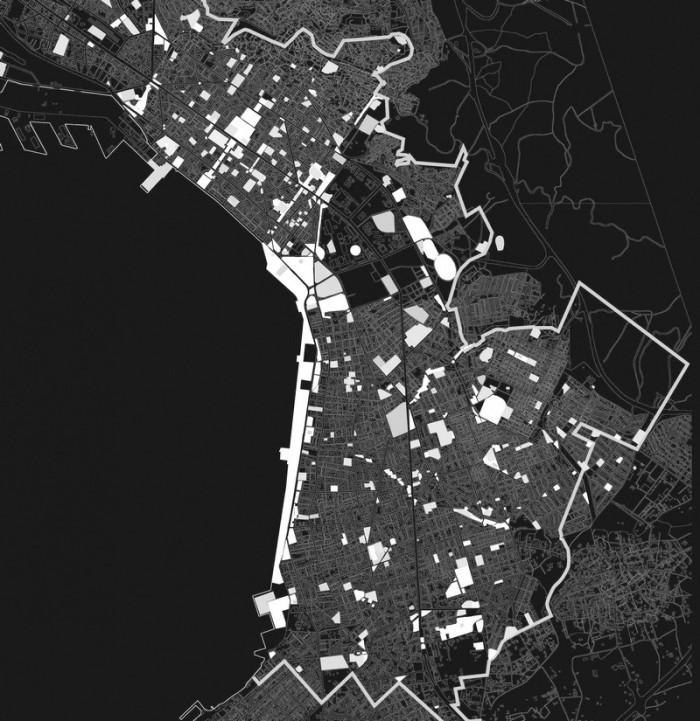 Εικ. 2. Ανάλυση των ελκυστών δραστηριότητας στην περιοχή  του Δήμου Θεσσαλονίκης (βλ. σημ. 2)