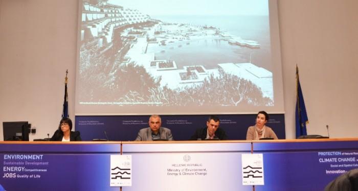 Αριστερά προς δεξιά: Αγγελική Ευριπιώτη, Σωκράτης Αλεξιάδης, Γιάννης Αίσωπος, Μυρτώ Δεσποτίδη Φωτογραφία: Λεωνίδας Καλπαξίδης