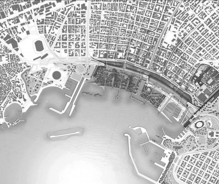 Πρόταση ολοκληρωμένης ανάπλασης του Φαληρικού Όρμου, πηγή: www.ypeka.gr