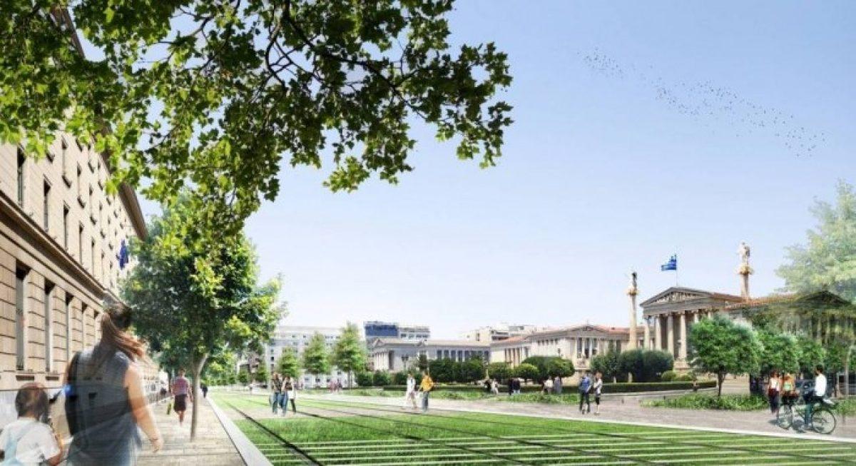 """Διάλεξη με θέμα """"Η περιβαλλοντική αδειοδότηση για την ανάπλαση της οδού Πανεπιστημίου"""" 25/06/2014 ώρα 18:30 στο ΕΜΠ"""