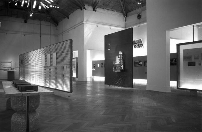Άποψη της έκθεσης «Κυριάκος Κρόκος» στην 6η Biennale Αρχιτεκτονικής φωτ. αρχείο Α. Γιακουμακάτου