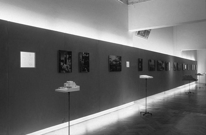 Άποψη της έκθεσης «Κυριάκος Κρόκος» στην 6η Biennale Αρχιτεκτονικής φωτ: αρχείο Α. Γιακουμακάτου