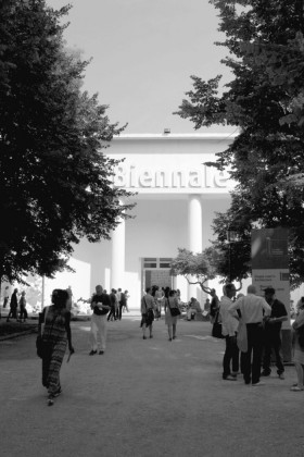 Tο κεντρικό περίπτερο στη 12η Biennale Αρχιτεκτονικής