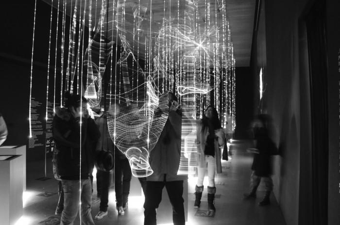 Απόψεις από την έκθεση «Athens by Sound» στην 11η Biennale Αρχιτεκτονικής φωτ: αρχείο Α. Καρανδεινού