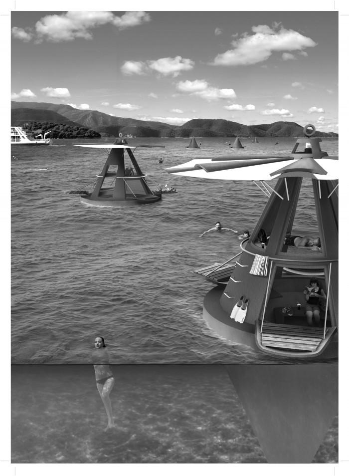 Ζήσης Κοτιώνης, «Αμφίβιες αποικίες στη θαλάσσια έκ(σ)ταση», Βόλος συνεργάτες: Κωνσταντίνος Ζβες, Βάσια Λύρη, Γιώργος Ρυμενίδης, Μιχάλης Σοφτάς