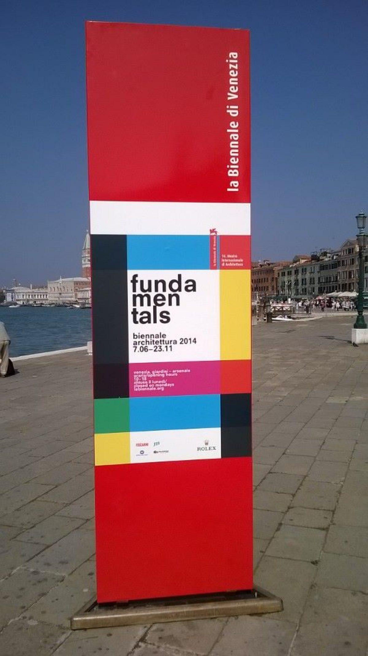 Επίσημο πρόγραμμά εκδρομής ΣΑΔΑΣ – ΠΕΑ Βενετία – Biennale Αρχιτεκτονικής 2014 (20-25 Νοε 2014)