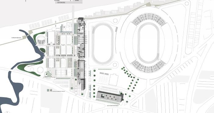 """Αποτελέσματα αρχιτεκτονικού διαγωνισμού Ιδεών """"Γενικό Σχέδιο για την αξιοποίηση ακινήτου του Παγκρήτιου Σταδίου Δήμου Ηρακλείου που βρίσκεται στο δυτικό παραλιακό μέτωπο της πόλης του Ηρακλείου"""""""