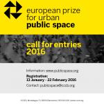 Ευρωπαϊκό Βραβείο για τον Αστικό Δημόσιο Χώρο (2016)
