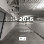 3ο Διεθνές Συνέδριο Κατασκευών και Αρχιτεκτονικής (ICSA2016), 27 έως 29 Ιουλίου 2016