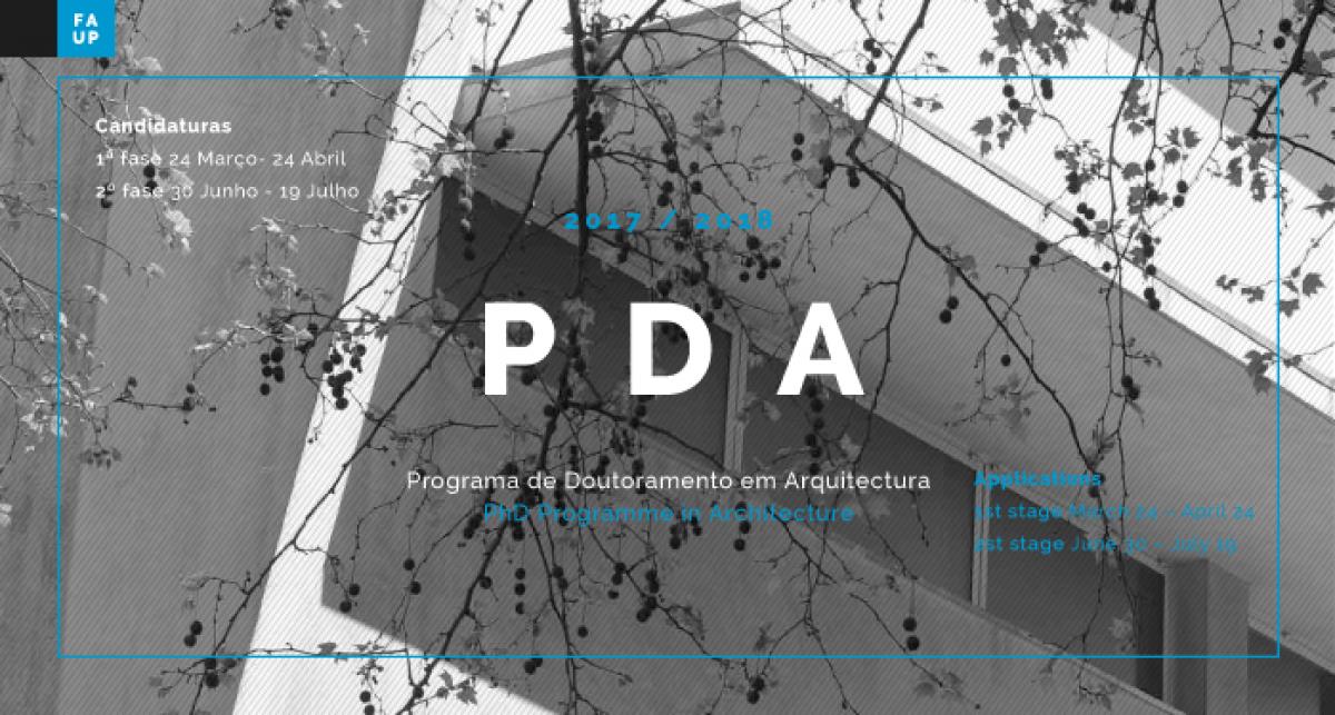 Διδακτορικό Πρόγραμμα (PhD) Αρχιτεκτονικής στο FAUP / Πορτογαλία : Α' πρόσκληση συμμετοχής