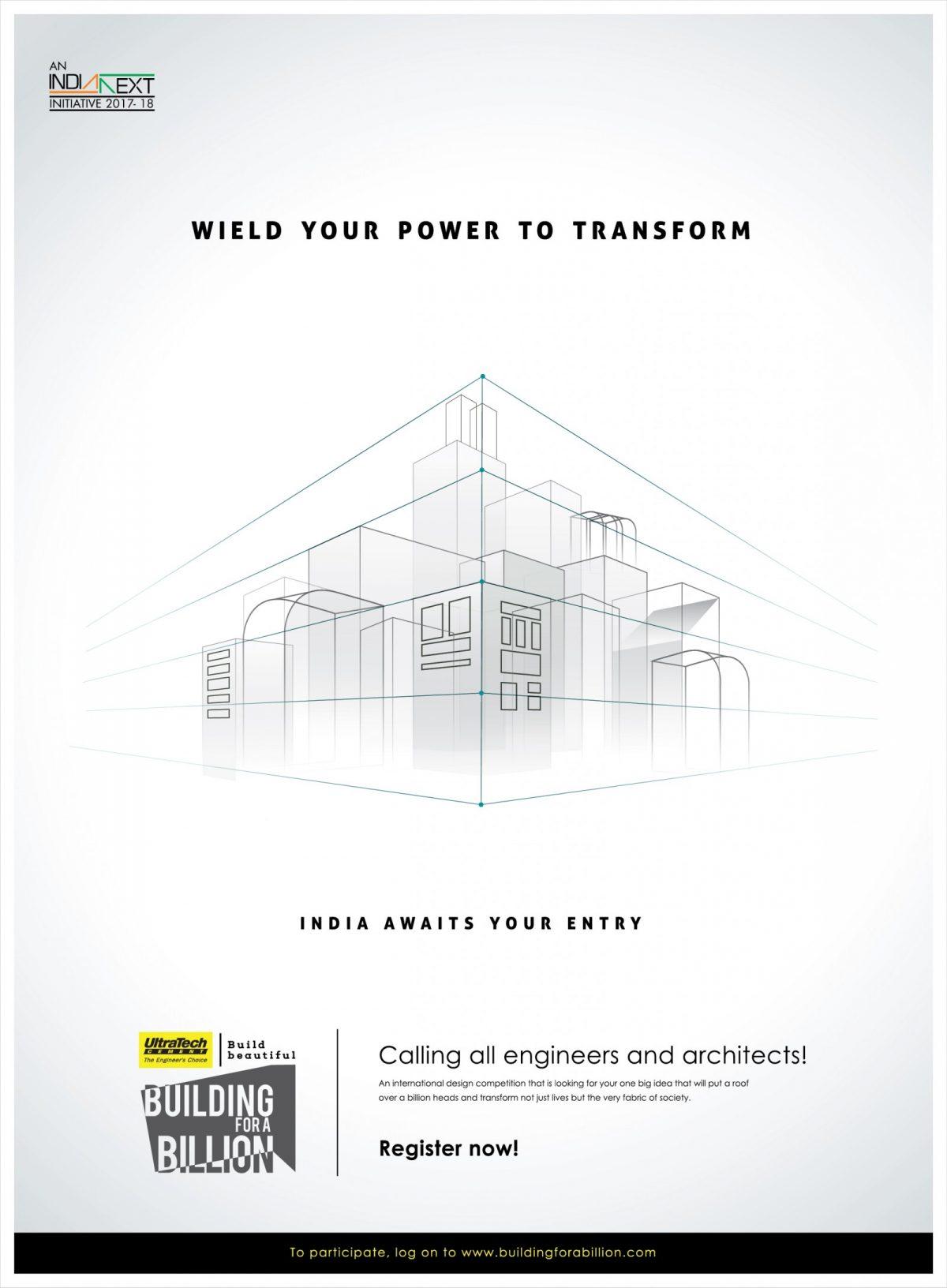 """Διεθνής Διαγωνισμός: International Design Competition """"Building for a Billion"""""""