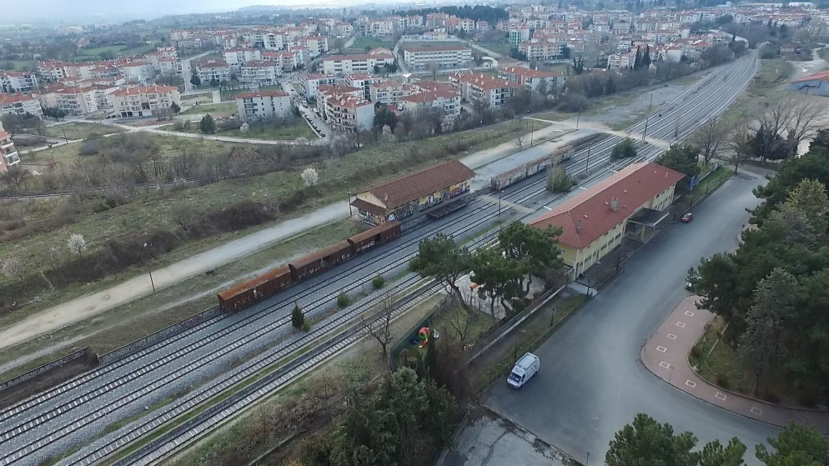 """Περίληψη προκήρυξη Αρχιτεκτονικού Διαγωνισμού Ιδεών """"Ανάπλαση περιοχής σταθμού ΟΣΕ Κοζάνης"""""""