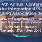 4ο Ετήσιο Συνέδριο του International Place Branding Association (IPBA) : Συνδιοργάνωση Πανεπιστήμιο Θεσσαλίας, Βόλος