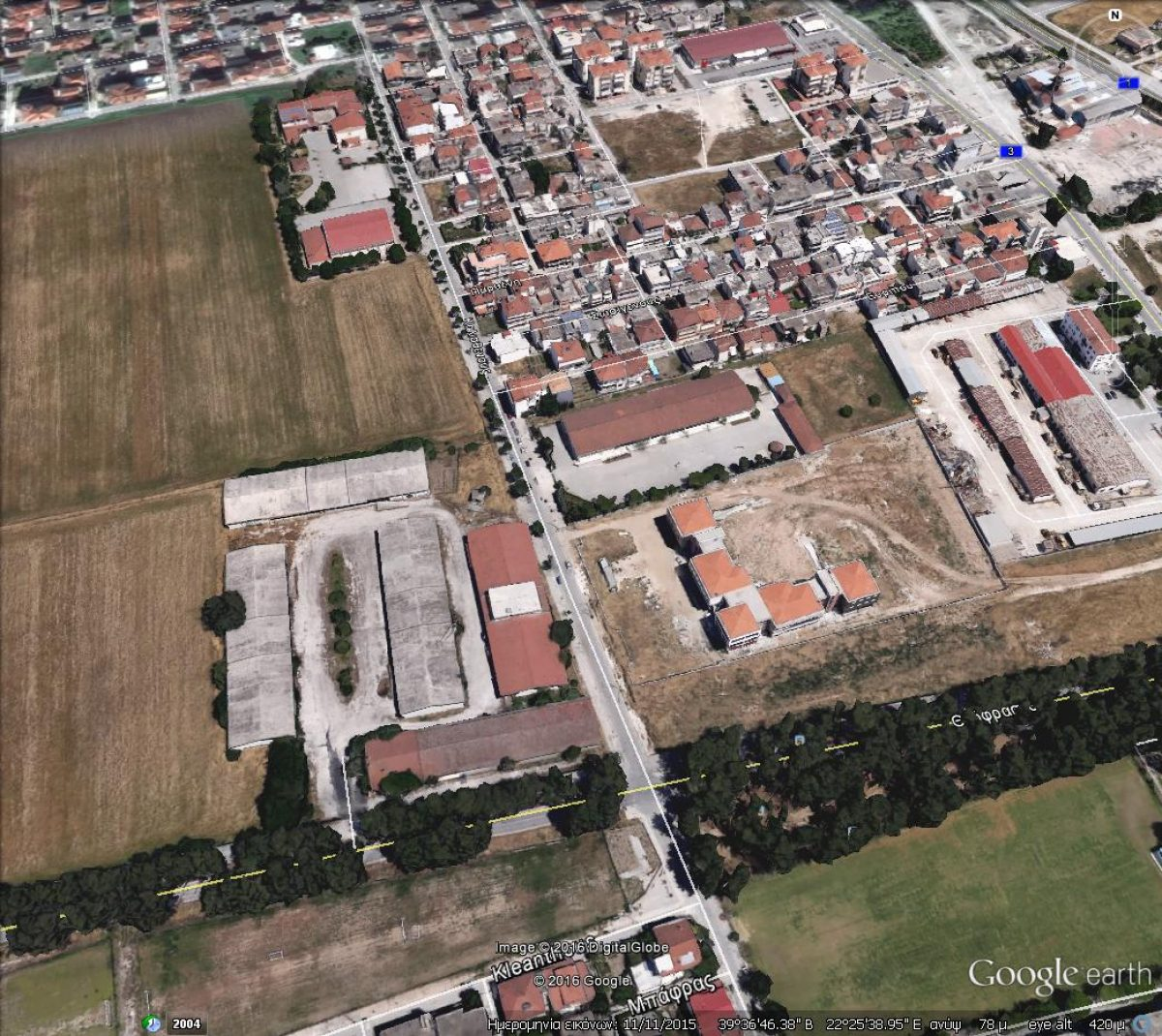 """Αποτελέσματα Αρχιτεκτονικού Διαγωνισμού Ιδεών με θέμα """"Διαμόρφωση έκτασης ΕΘΙΑΓΕ στη Λάρισα"""""""