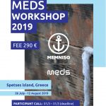 MEDS Spetses 2019, 26 Ιουλίου έως 12 Αυγούστου Participant Call: 1/03/2019 – 5/04/2019.