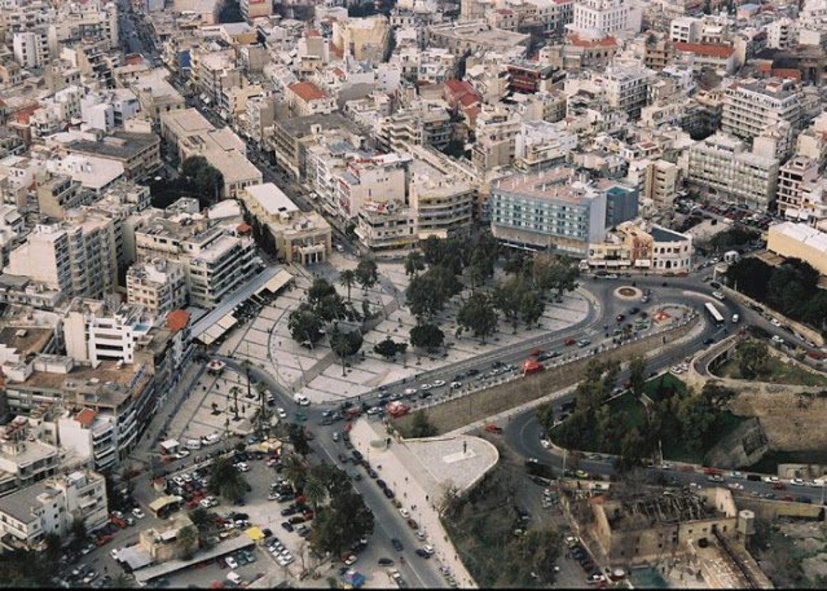 1η Ανακοίνωση για τον Πανελλήνιο Αρχιτεκτονικό Διαγωνισμό Προσχεδίων με τίτλο : «Βιοκλιματική ανάπλαση της πλατείας Ελευθερίας και της ευρύτερης περιοχής της ανατολικής εισόδου στο ιστορικό κέντρο της πόλης» του Δήμου Ηρακλείου Κρήτης
